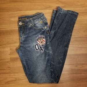 Justice Distressed Jean's Size 14R